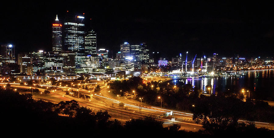 Perth Photograph - Perth By Night by Paki OMeara