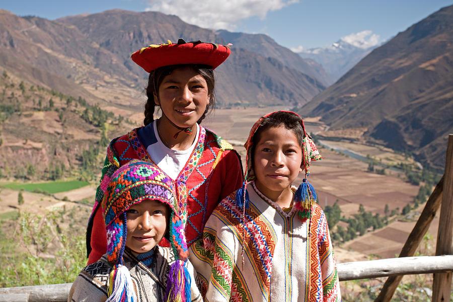Peruvian Postcard Photograph
