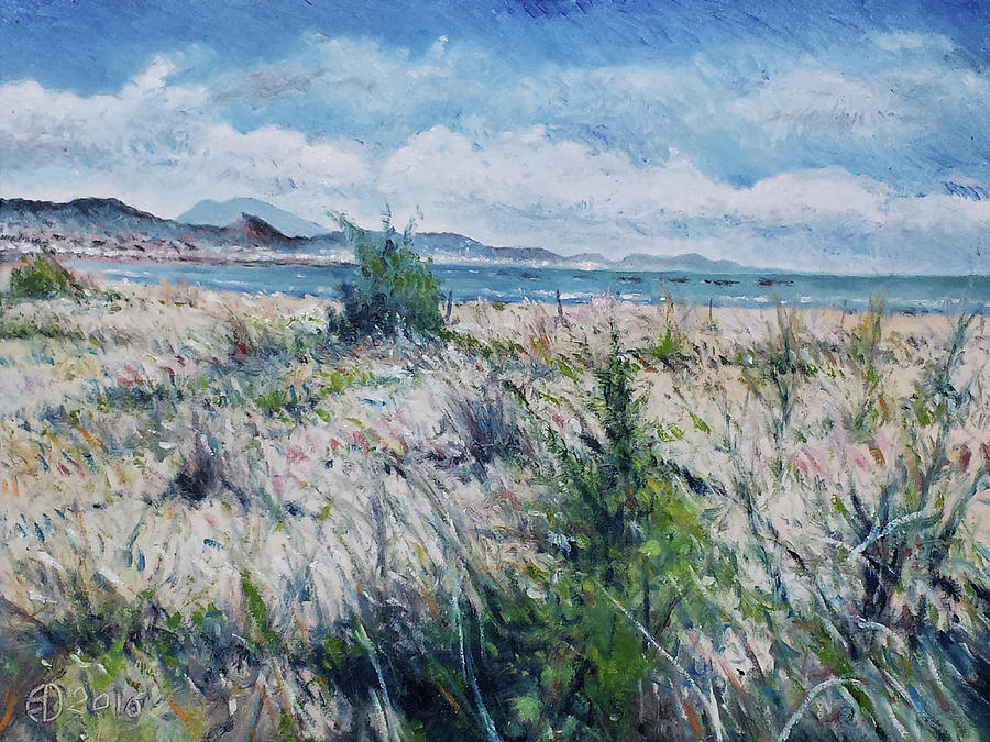 Impressionism Painting - Pescara Italy 2016 by Enver Larney