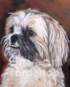 Pet Painting - Pet Portrait Artist Painter by Renee Dumont  Museum Quality Oil Paintings  Dumont