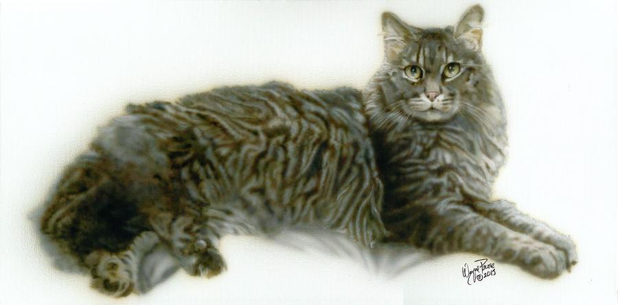 Pet Portrait - Buddy Painting by Wayne Pruse