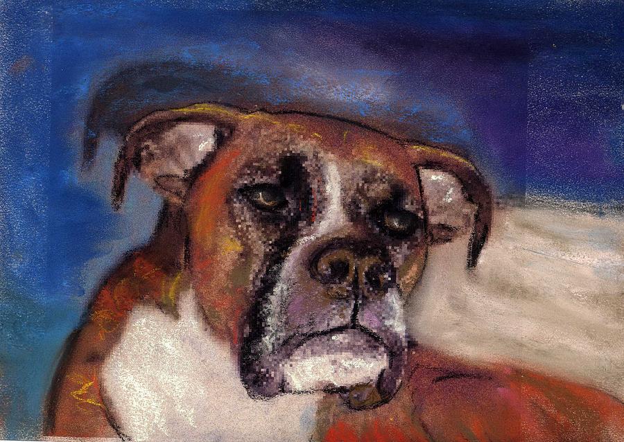 Pastel Pet Portraits Painting - Pet Portraits by Darla Joy  Johnson