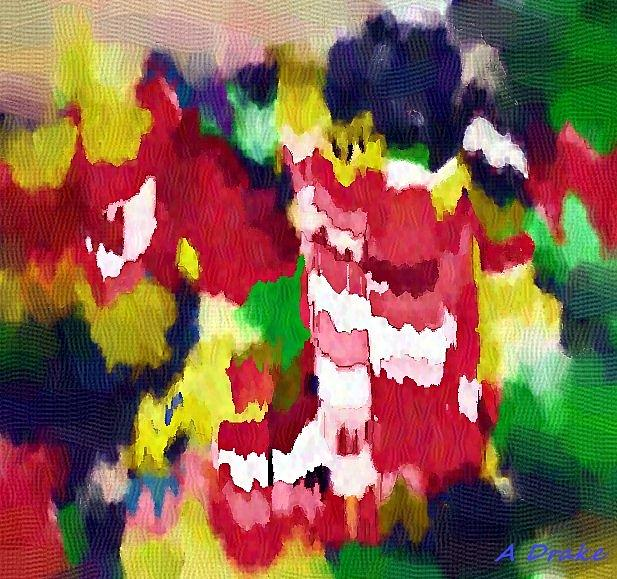 Petal Pollen Volcano by Alec Drake