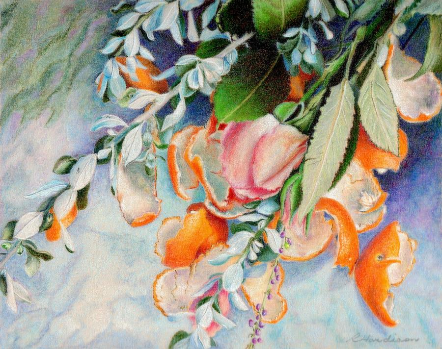 Flowers Painting - Petals And Peels by Robynne Hardison