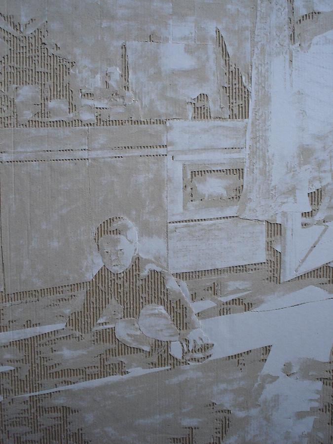 Interior Drawing - Petar In De Keuken by Dragan  Despotovic