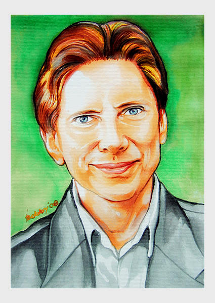 Portrait Painting - Peter by Bobby Barredo