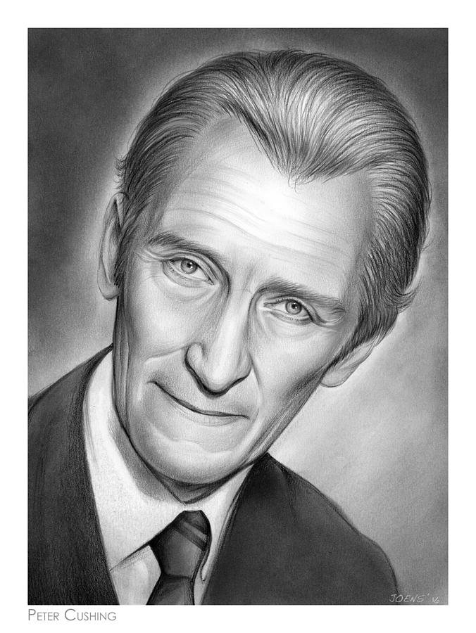 Peter Cushing Drawing