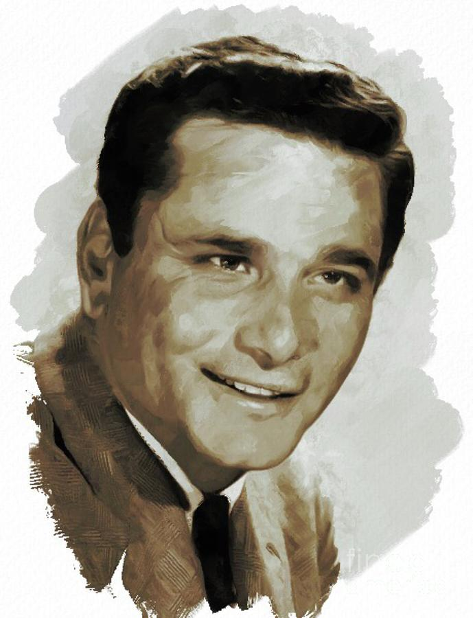 Peter Falk, Actor Painting