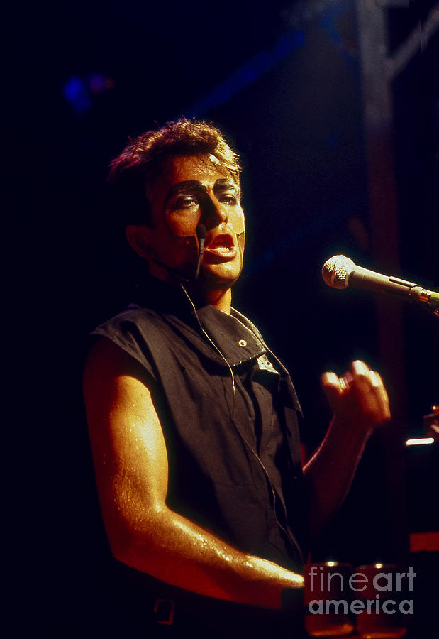 Photo Photograph - Peter Gabriel by Philippe Taka