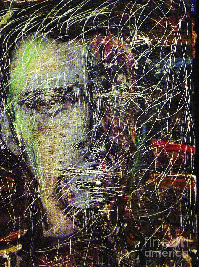 Peter Gabriel Painting - Peter Gabriel Shock The Monkey by Gayland Morris