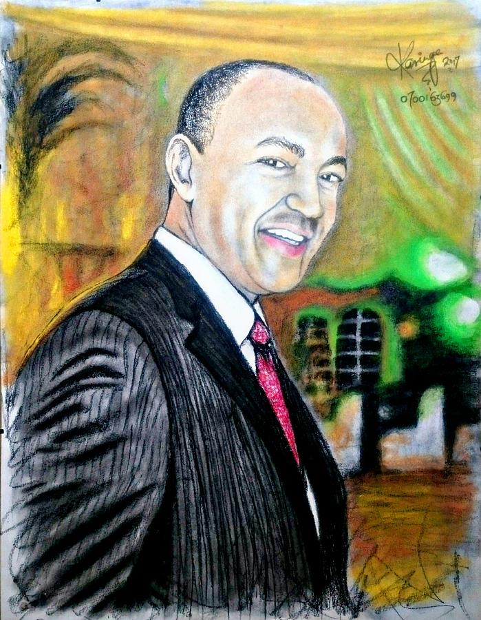 Peter Kenneth  Mixed Media by Stephen Karinge