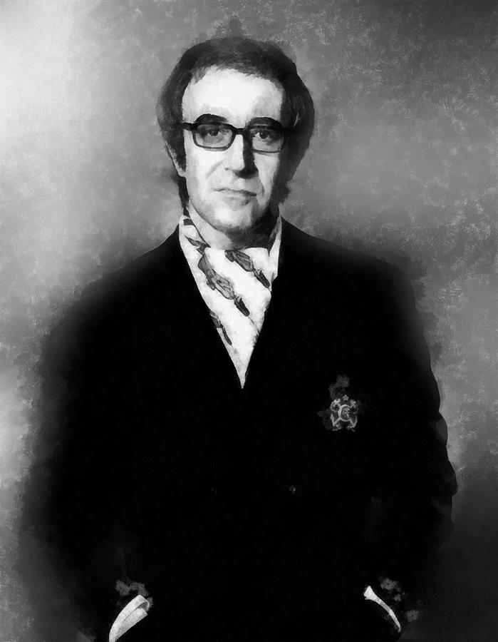 Hollywood Painting - Peter Sellers By John Springfield by John Springfield