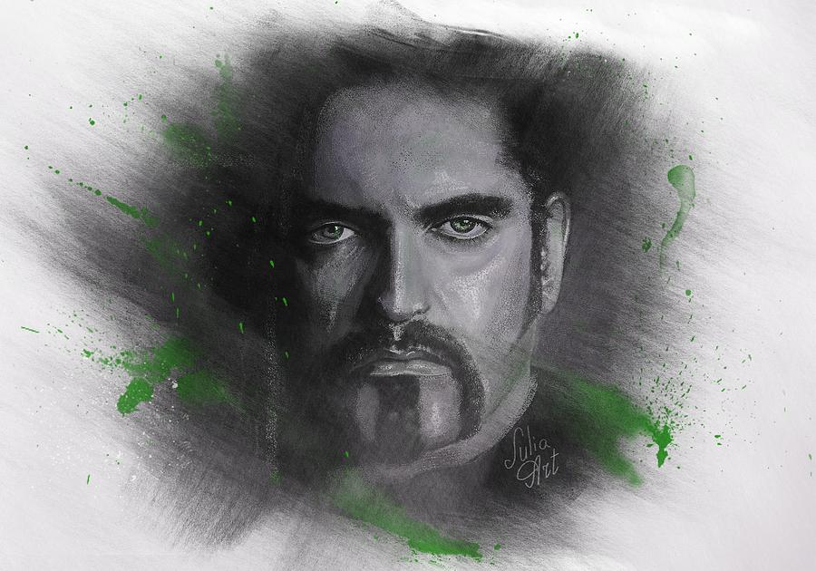 Peter Drawing - Peter Steele, Type O Negative by Julia Art