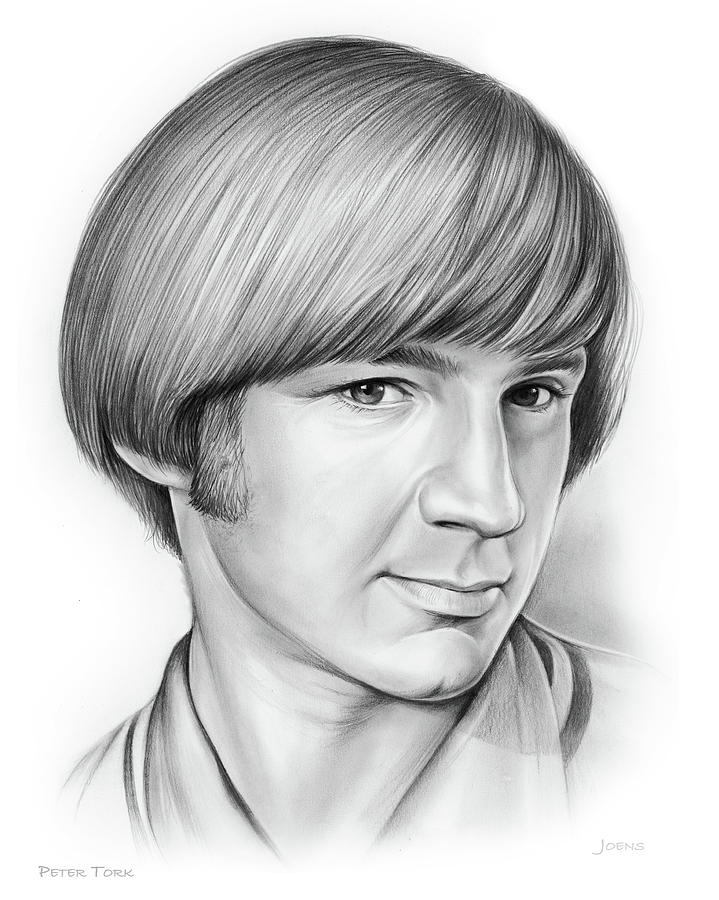 Peter Tork Drawing