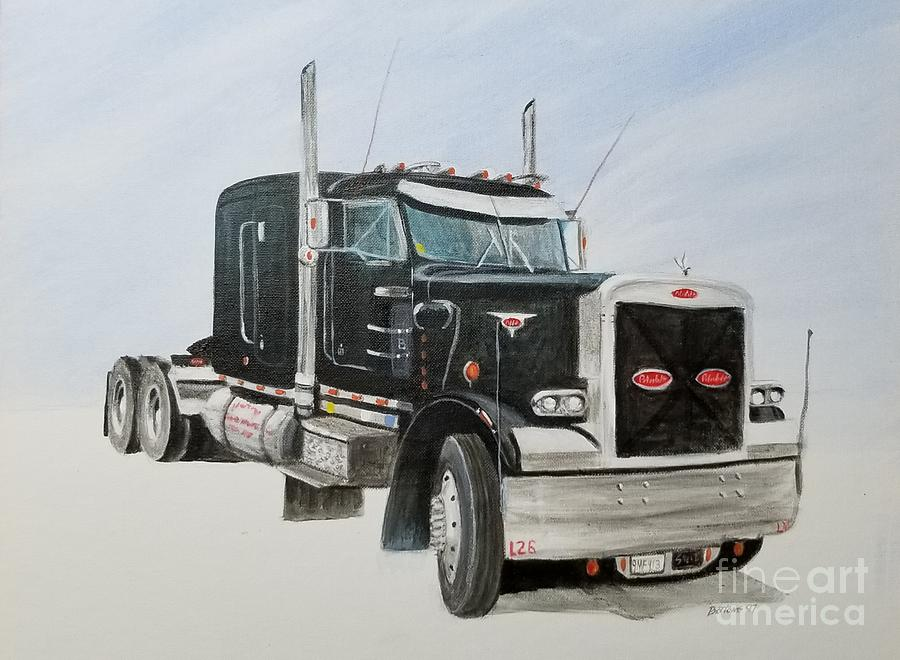 Peterbilt by Stacy C Bottoms