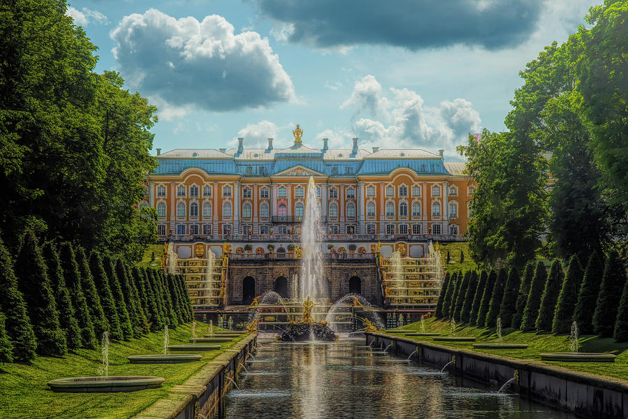Peterhof Palace by Mick Burkey