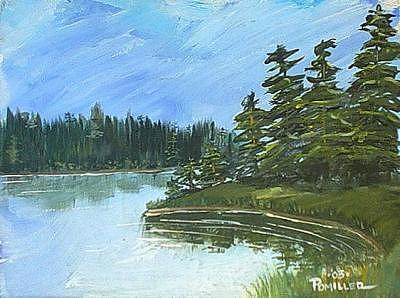 Petes Cove Painting by Pete  Miller