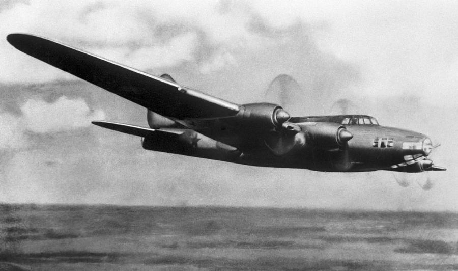 Petlyakov Pe-8 Photograph - Petlyakov Pe-8, Soviet Ww2 Bomber by Ria Novosti