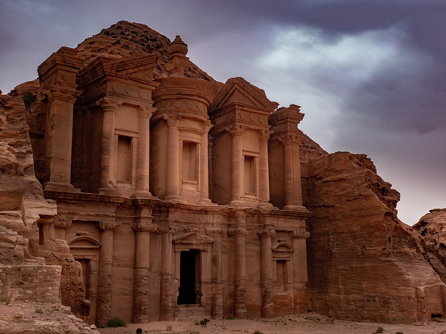 Petra's Monastery by Boyce Fitzgerald
