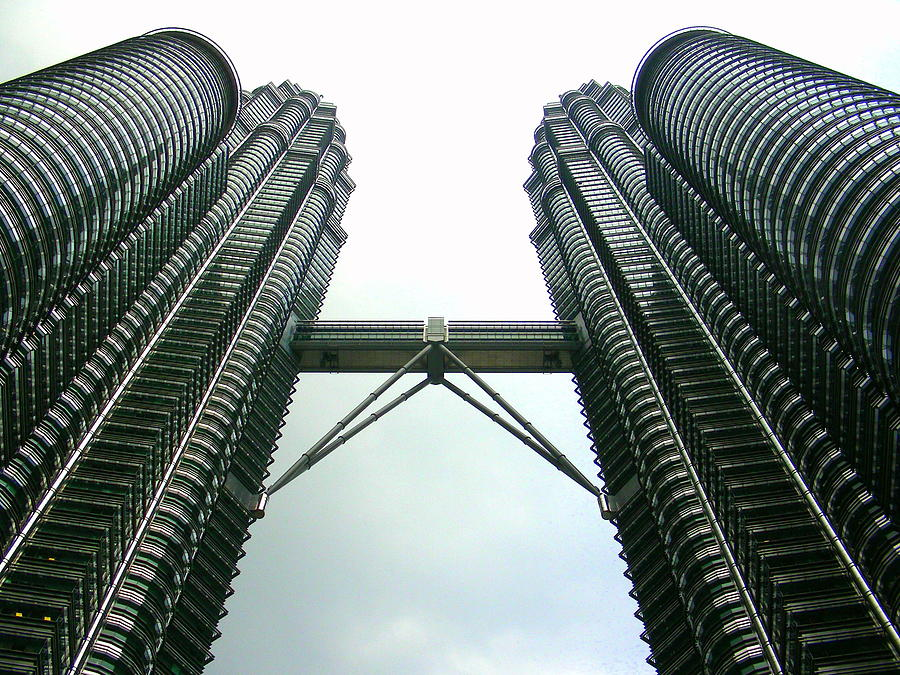 Architecture Photograph - Petronas by Jane Buck