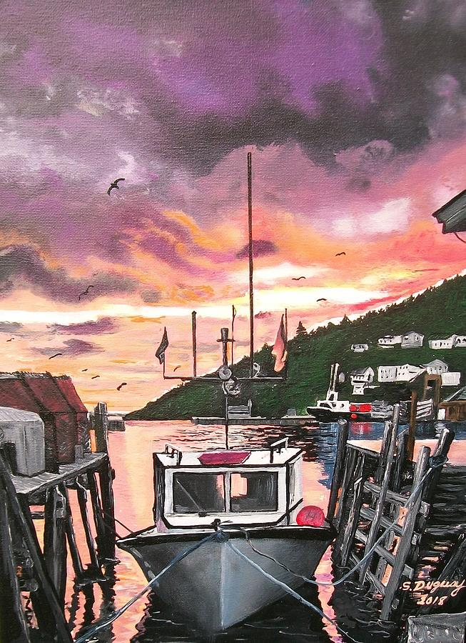 Petty Harbour Painting