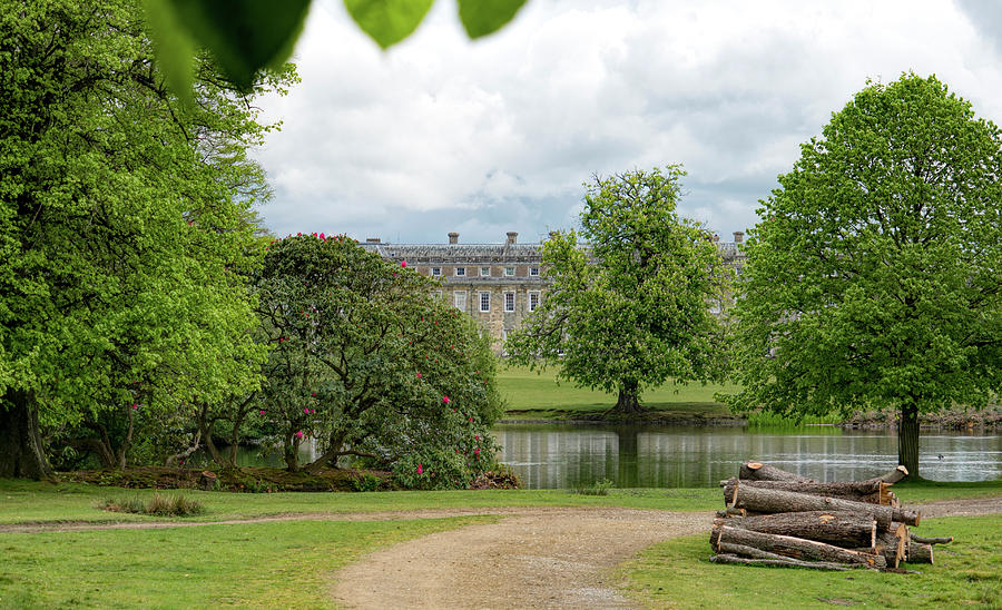 Petworth Photograph - Petworth House On Lake by Michael Hope