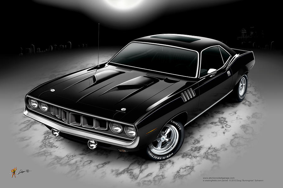 Phantasm 71 Cuda by Doug Schramm