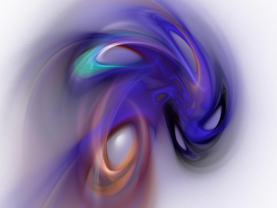Abstract Digital Art - Phantasm by David Lane