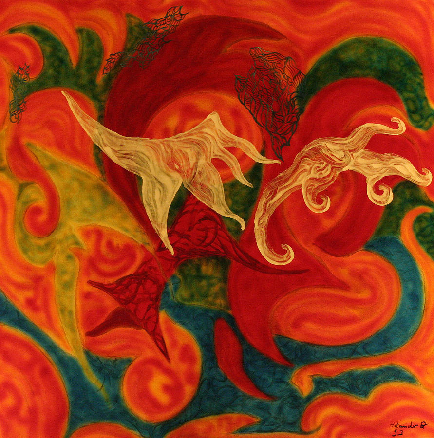 Phantasm Orgies 11 Painting by Holger Zander