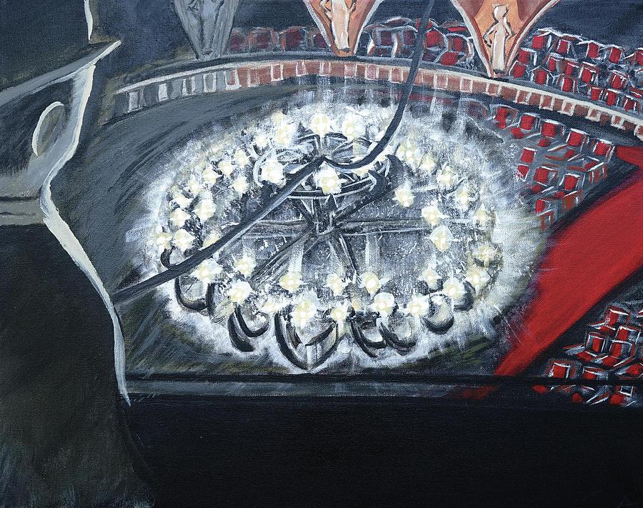 Opera Painting - Phantom by Aj