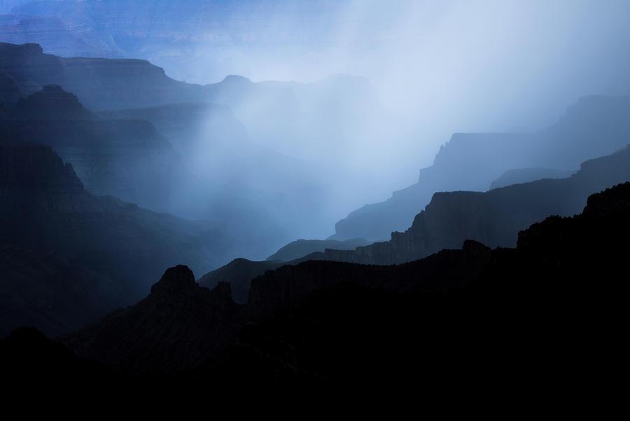 Arizona Photograph - Phantom Blues by Adam Schallau