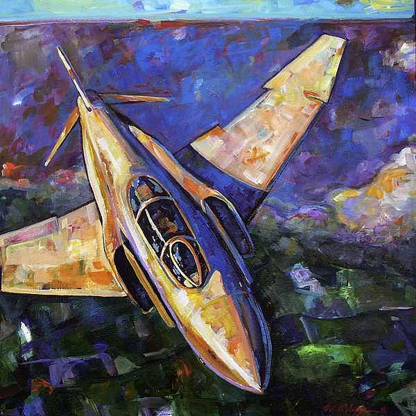 Phantom Sky Print by William  Wiggins III