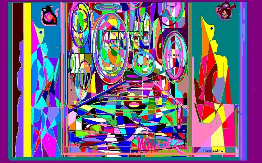 Pharaoh Metaphysics Digital Art by Walcopz Valencia
