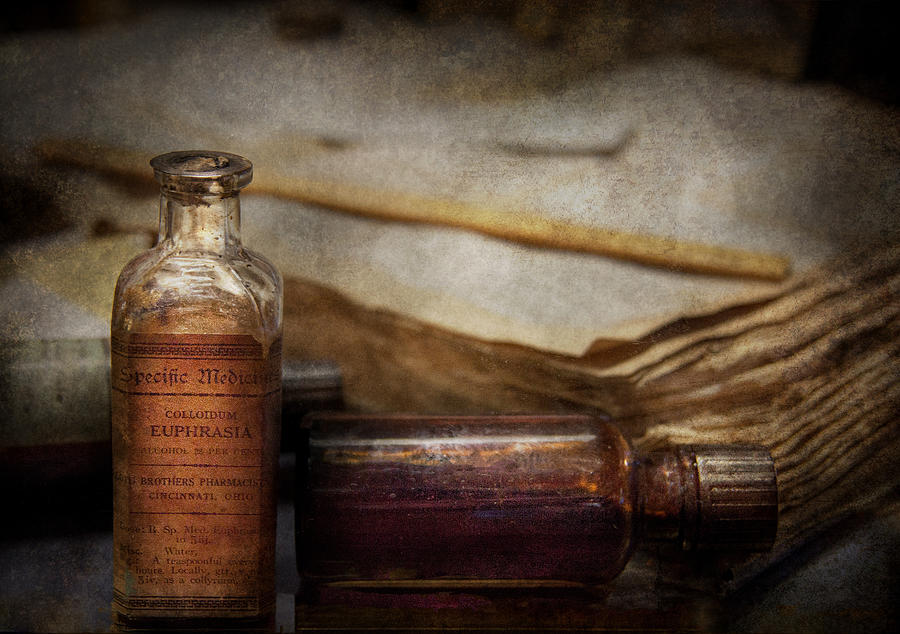 Hdr Photograph - Pharmacist - Specific Medicines  by Mike Savad