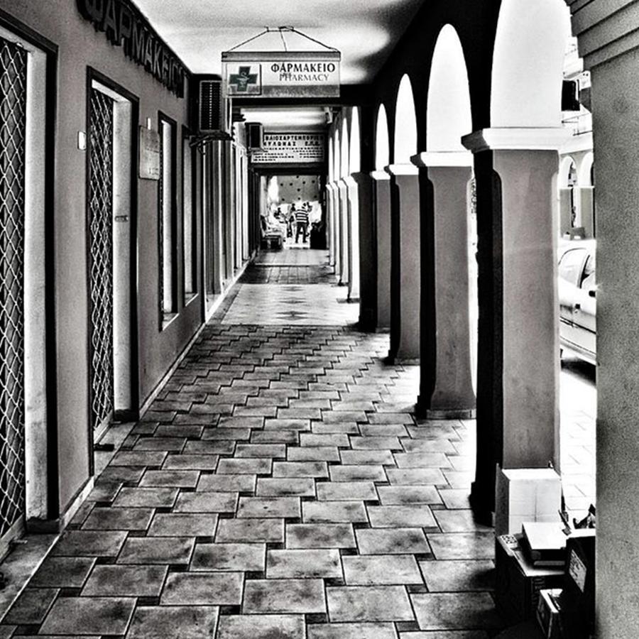 Zakynthos Photograph - Pharmacy, Zante Town. #zakynthos #zante by John Edwards