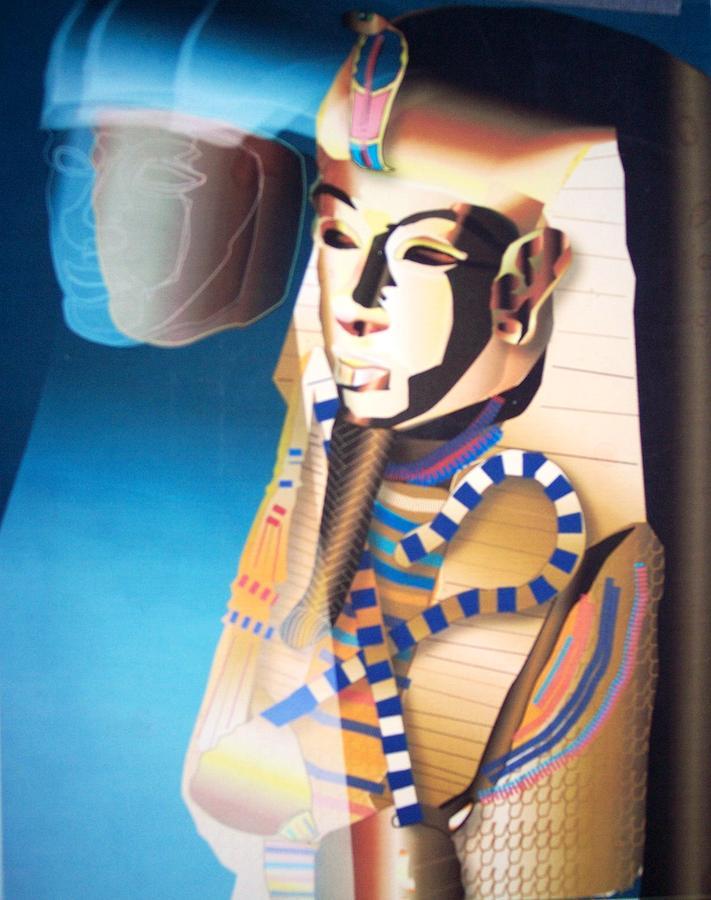 King Tut Digital Art - Pharoahs Whisper by Terry Groehler