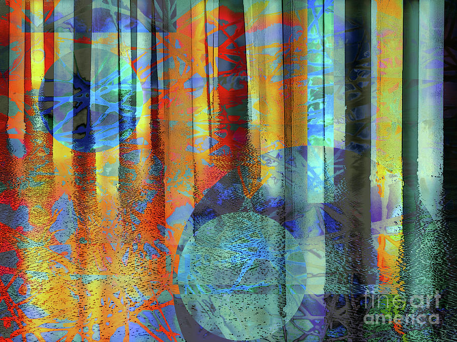 Abstract Photograph - Phasing Through by Robert Ball