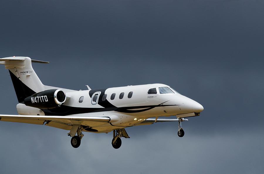 Aircraft Photograph - Phenom 300 by James David Phenicie