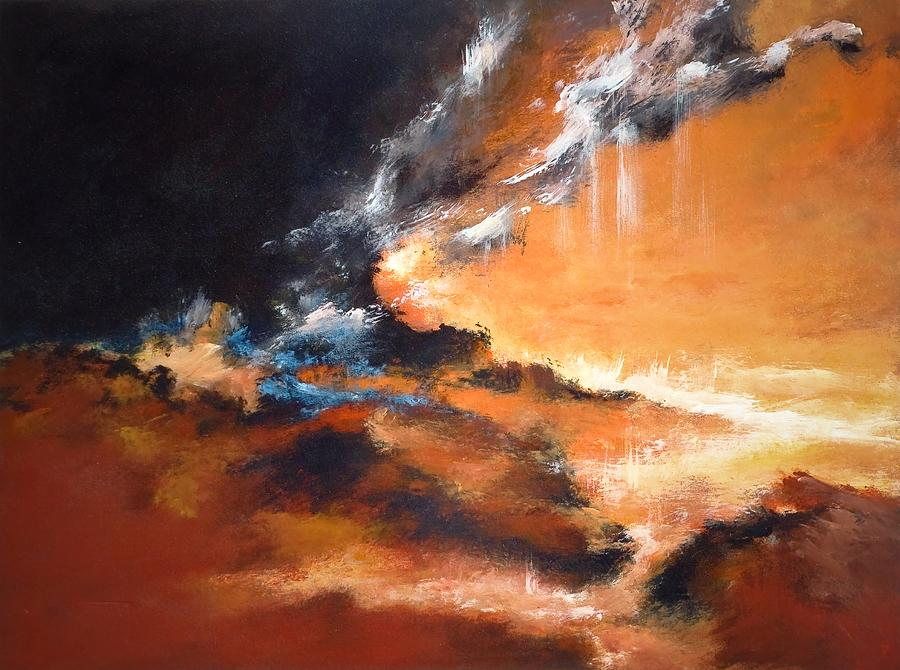 Landscape Painting - Phenomena 1 by DEVARAJ DanielFranco