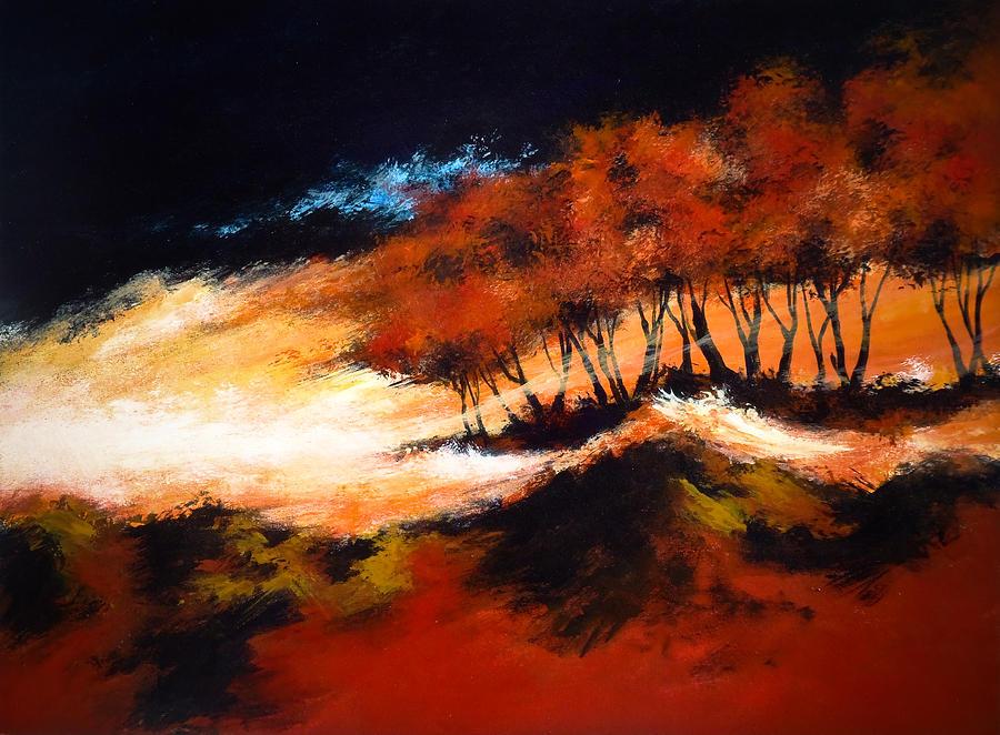 Abstact Painting - Phenomena 2 by DEVARAJ DanielFranco
