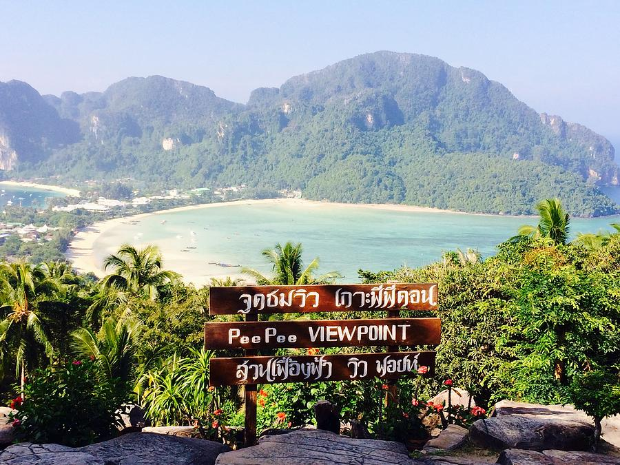 Island Photograph - Phi Phi Island, Thailand by Cindy Ross