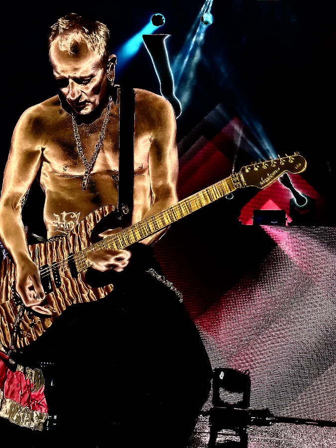 Phil Collen Of Def Leppard 3 by David Patterson