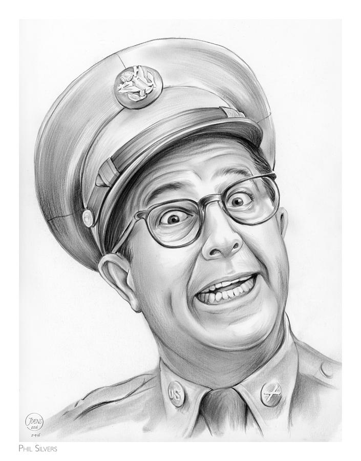 Phil Silvers Drawing