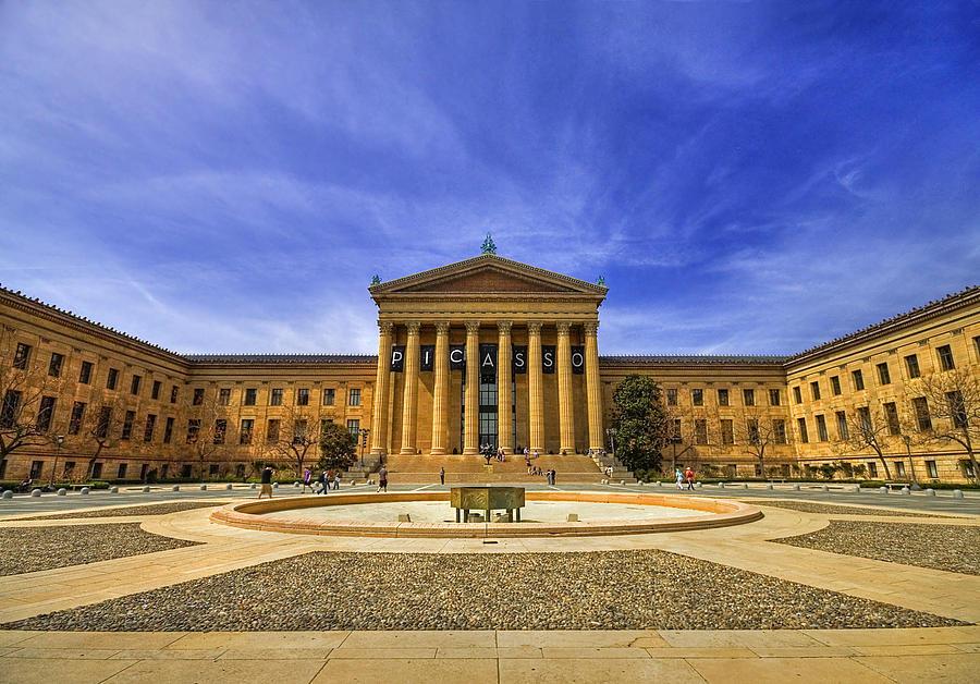Philadelphia Art Museum Photograph By Evelina Kremsdorf