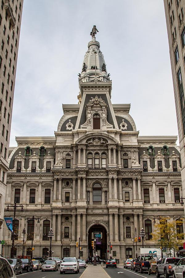Philadelphia Photograph - Philadelphia City Hall by Robert J Caputo