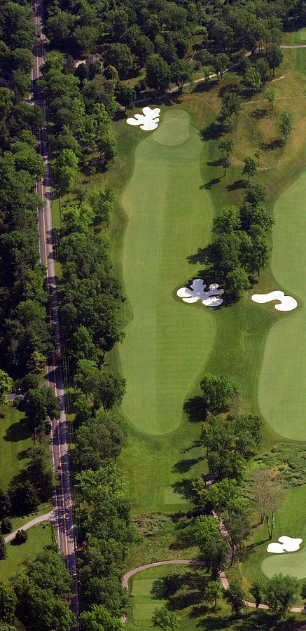 Philadelphia Cricket Club Photograph - Philadelphia Cricket Club Militia Hill Golf Course 13th Hole by Duncan Pearson