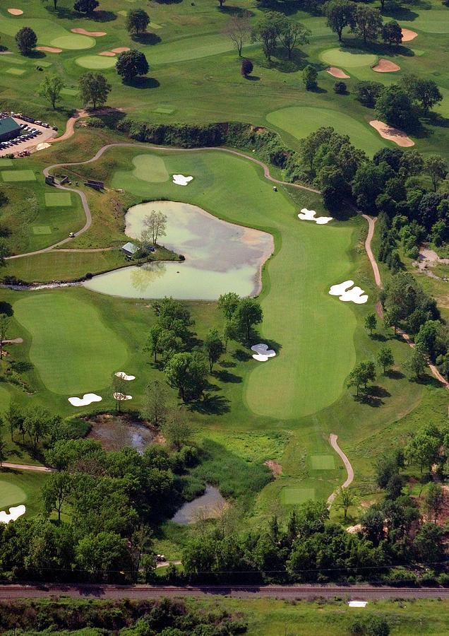 Philadelphia Cricket Club Photograph - Philadelphia Cricket Club Militia Hill Golf Course 3rd Hole by Duncan Pearson