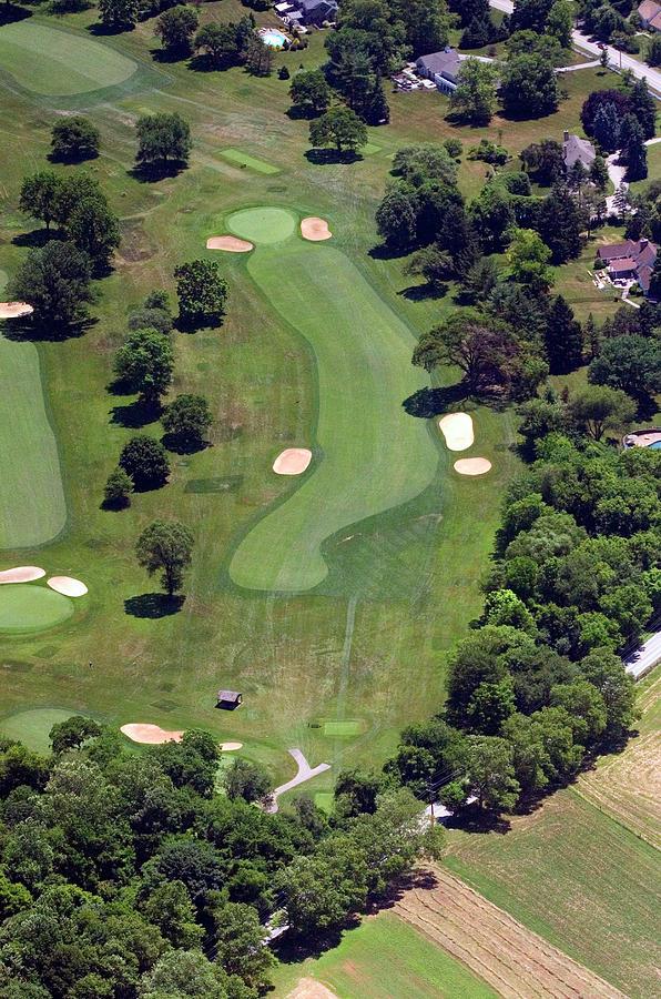 Philadelphia Cricket Club Photograph - Philadelphia Cricket Club Wissahickon Golf Course 16th Hole by Duncan Pearson