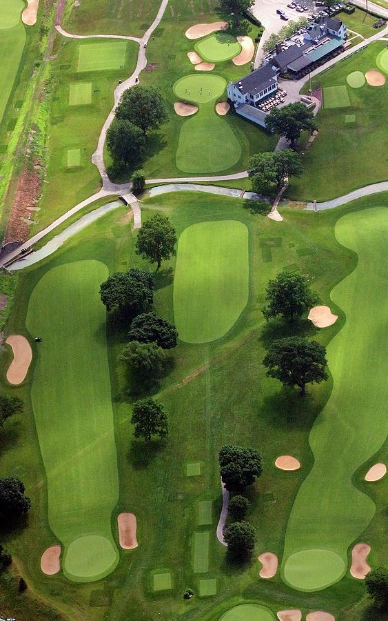 Philadelphia Cricket Club Photograph - Philadelphia Cricket Club Wissahickon Golf Course 2nd Hole by Duncan Pearson