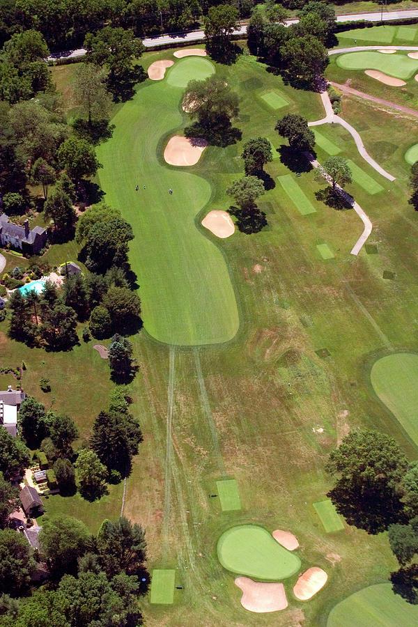 Philadelphia Cricket Club Photograph - Philadelphia Cricket Club Wissahickon Golf Course 6th Hole by Duncan Pearson